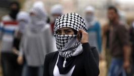 المراة الفلسطينية في يوم المراة