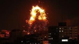 طائرات الاحتلال تستهدف مواقع تابعة للمقاومة برفح