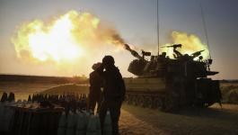 مدفعية الاحتلال تستهدف نقطة للمقاومة وسط قطاع غزّة