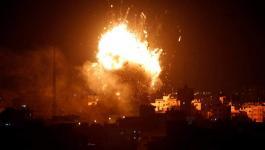 طائرات الاحتلال الحربية تشنّ سلسلة غارات على أهداف مختلفة في قطاع غزّة