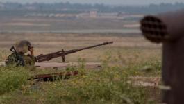 قوات الاحتلال تُطلق النار على المزارعين شرق خانيونس