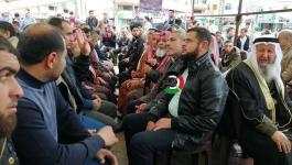 بالفيديو والصور: القوى الوطنية والإسلامية في رفح تنظم خيمة تضامن مع الأسرى في سجون الاحتلال