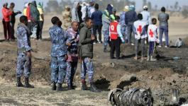 تحطم طائرة في أديس أبابا