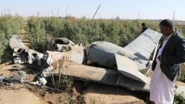 سقوط طائرة عسكرية إيرانية جنوب غرب البلاد