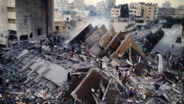 قصف منزل