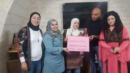 بالصور: المركز النسوي الثوري سلوان يختتم مبادرة