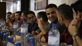 بالصور: الشبيبة الفتحاوية بساحة غزّة تُنظم أمسية للأطر الطلابية التابعة للفصائل