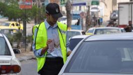 شرطة مرور غزة