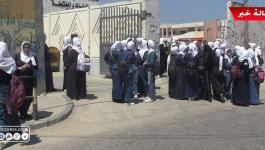 شاهد بالفيديو: آراء طلبة الثانوية العامة في غزّة بامتحاني الفيزياء والثقافة