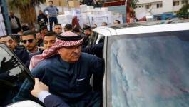 العمادي يصل غزة.