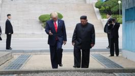 ترامب يلتقي زعيم كوريا الشمالية في المنطقة المنزوعة السلاح بين الكوريتين