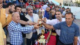 بالصور: أبو هولي يختتم بطولة شهداء المغازي الرمضانية