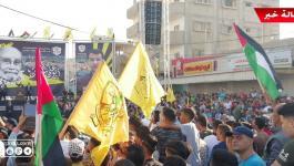 شاهد بالفيديو والصور: إحياء ذكرى رحيل المناضل أبو علي شاهين بمهرجان كبير في رفح