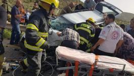 مصرع شقيقين وإصابة 11 مواطنًا بحادث سير مروع.jfif