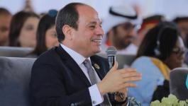 السيسي: سيناء أرض مصرية ولا تفريط بشبر واحد منها