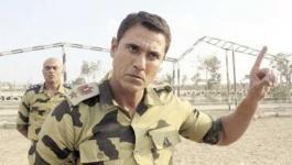 بالفيديو:  التدريبات العسكرية لأحمد عز وأبطال