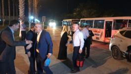 بالصور: وصول قافلة أميال من الابتسامات