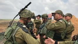 الجيش على حدود غزة