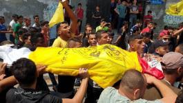 جماهير غفيرة تشيع جثامين 3 شهداء شمال القطاع