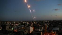 الاحتلال يكشف عن أعداد الصواريخ التي أطلقتها المقاومة من غزّة صوب إسرائيل