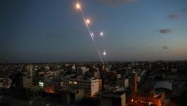 إطلاق قذائف صاروخية من غزّة صوب مستوطنات الغلاف