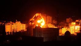 طائرات الاحتلال تستهدف مواقع للمقاومة في غزّة