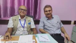 د. أحمد لطفي يبدأ في استقبال حالات مرضية معقدة في مستشفى الخدمة العامة بغزّة
