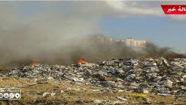 شاهد بالفيديو: كارثة بيبئة تُهدّد حياة الآلاف من سكان شمال قطاع غزّة!!