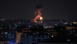 طائرات الاحتلال تستهدف عمارة مُدمرة ومواقع للمقاومة في غزّة