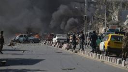 انفجارات كابول