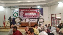 بالصور: الديمقراطية تُقيم بيت عزاء لعضو مكتبها السياسي الراحل عبد الهادي