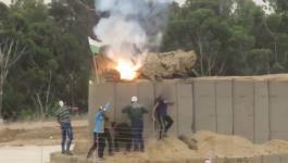 مصادر عبرية: 4 شبان تسللوا من غزة واستولوا على معدات عسكرية