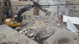 الاحتلال يهدم منزل