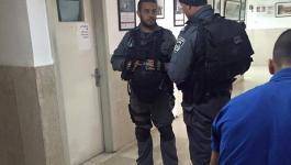شاهد: قوات الاحتلال تقتحم مستشفى المطّلع بالقدس المحتلة