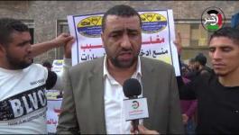 تجار إطارات السيارات يُغلقون محلاتهم في غزّة احتجاجاً على منع إدخالها