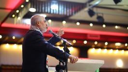 كلمة السنوار خلال لقائه مع الشباب اليوم في غزة
