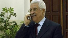 الرئيس عباس يهاتف
