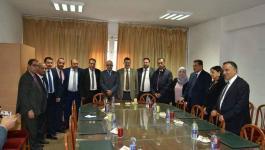 بالصور: وفد نقابة المحامين الفلسطينيين يُجري لقاءات مع منظومة العدالة في تونس