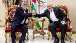 شاهد: قيادة حماس والجهاد تبحثان ملفات فلسطينية مهمة في القاهرة