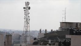 تشويش على شبكات الاتصالات الفلسطينية في جنوب قطاع غزّة