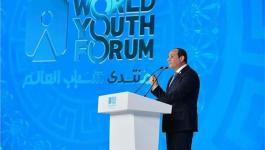 الرئيس المصري يُعقب على ملف المصالحة مع قطر