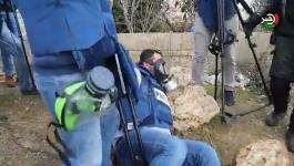 بالفيديو: وكالة خبر تُدين اعتداء الاحتلال على مراسلها في رام الله وتُطالب بحماية الصحفيين