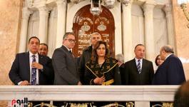شاهد: إعادة ترميم معبد يهودي بالإسكندرية