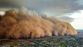 بالصور: بعد الحرائق والأمطار