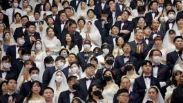بالفيديو والصور: بحفل زفاف