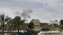 طائرات الاحتلال تشنّ غارات على أهداف تابعة للمقاومة في غزّة