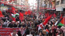 شاهد: الجبهة الديمقراطية تُحيي ذكرى انطلاقتها الـ51 في غزة
