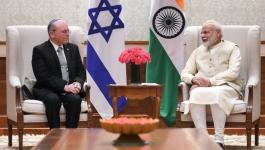 مسؤول إسرائيلي يلتقي برئيس وزراء الهند