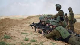 جيش الاحتلال يجري مناوارت عسكرية على حدود قطاع غزة