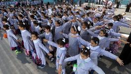 مدارس الأونروا بغزة